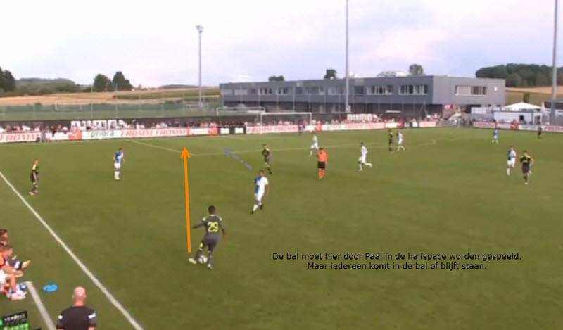 Half spaces worden niet benut bij PSV. Al 4 jaar niet.