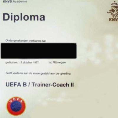 KNVB-diploma-TC-II