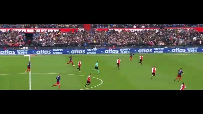 Video-analyse: het gebrek aan inzicht en techniek in de topper tussen Feyenoord en Ajax