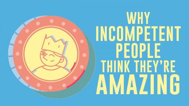 Video: waarom incapabele mensen vaak denken dat ze heel goed zijn